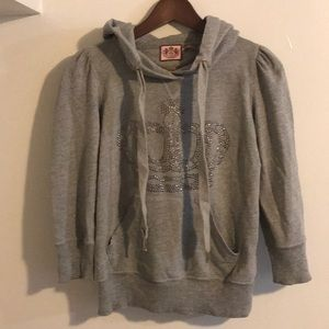 NWOT Juicy Couture Crystal Hoodie